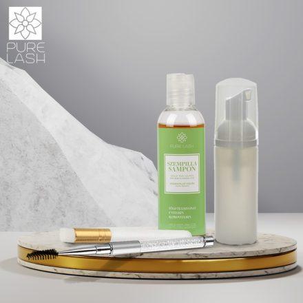 100 ml voňavý šampón na mihalnice s príslušenstvom
