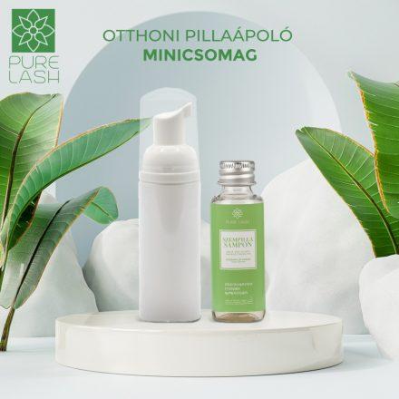 Home eyelash care mini package - green tea scent