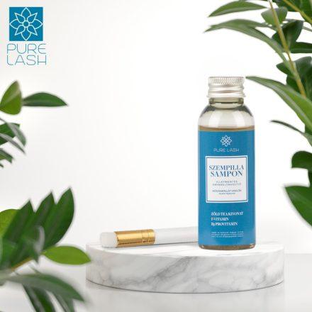 50 ml fragrance free eyelash shampoo and brush
