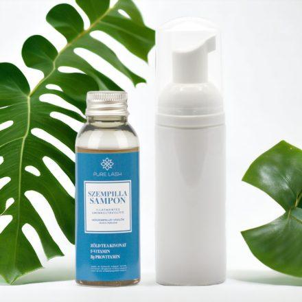 Šampón na mihalnice bez vône s penivou fľaštičkou - 50ml