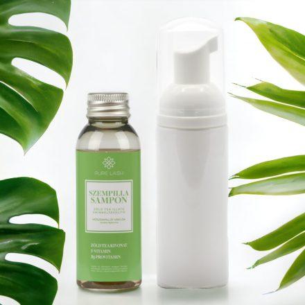 Šampón na mihalnice s vôňou zeleného čaju a spenenou fľaštičkou - 50ml