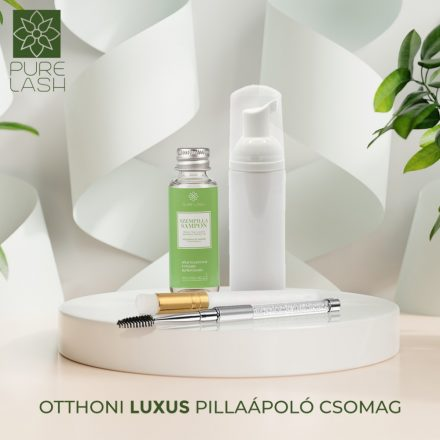 Otthoni luxus pillaápoló csomag - zöld tea illatú samponnal