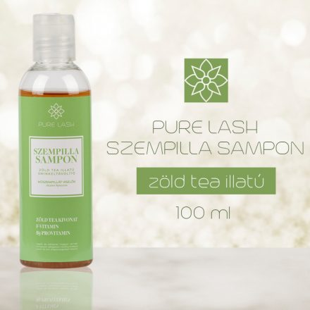 Šampón na riasy s vôňou zeleného čaju 100 ml