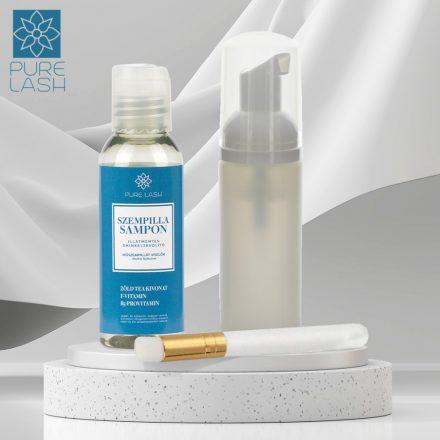 Midi balíček na čistenie rias - šampón na mihalnice bez zápachu