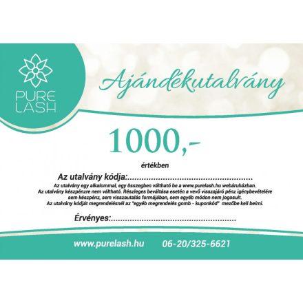 Ajándékutalvány 1000 Ft értékben
